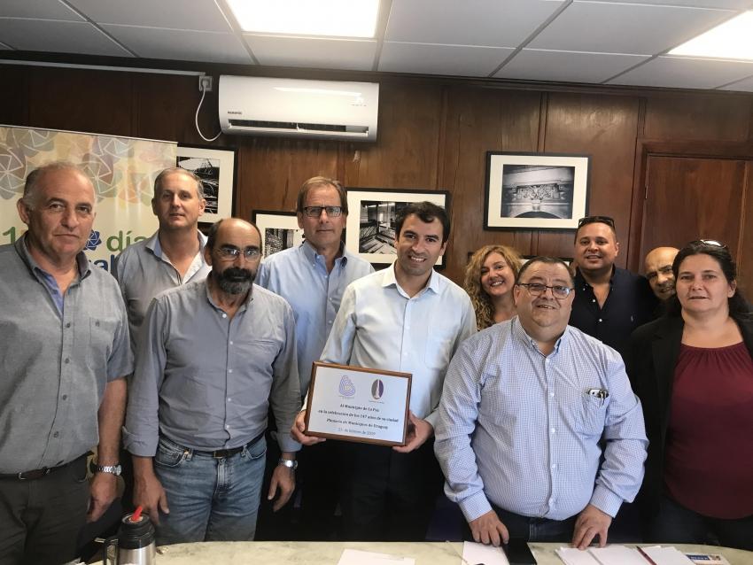 Mesa Ejecutiva sesionó en el Municipio de La Paz