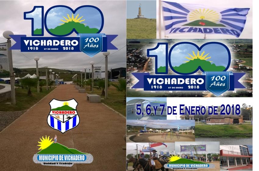 Municipio invita a los 100 años de Vichadero- 5, 6 y 7 de enero 2018