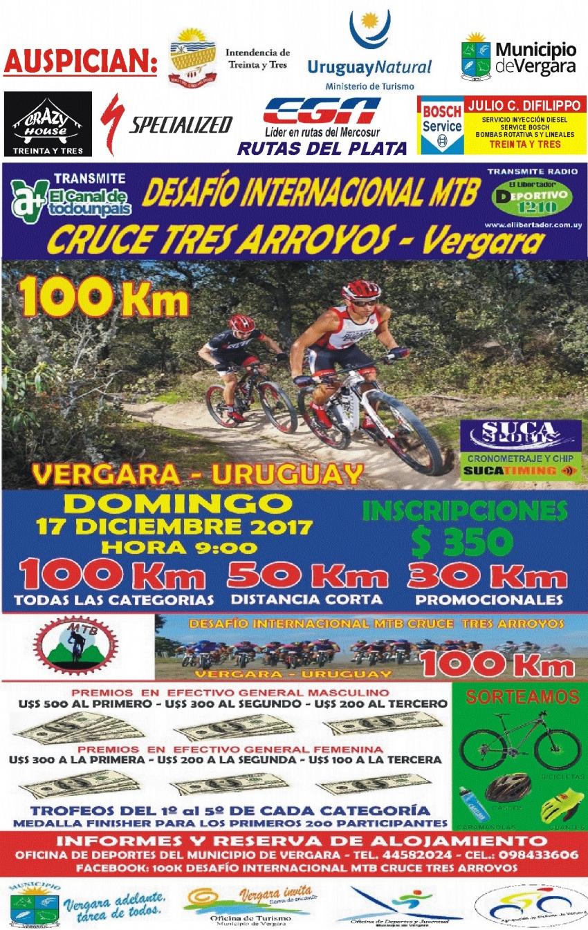 Municipio de Vergara: Desafío Internacional MTB